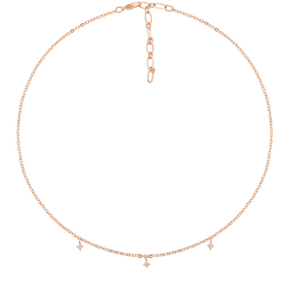 spring capsule wardrobe five and two choker necklace