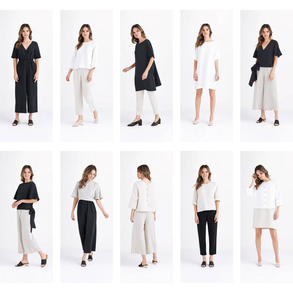 ef8a81650f4 Mix and match five versatile pieces to create a month s worth of outfits.