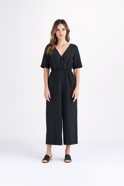 VETTA The Wrap Jumpsuit capsule wardrobe