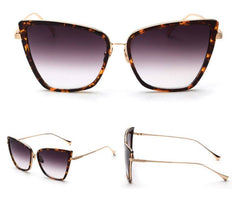 Elegant- Fashion Cat Eye Style sunglasses - Luxxy Shop