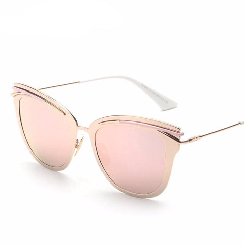Fancy Cat Eye Sunglasses - Luxxy Shop