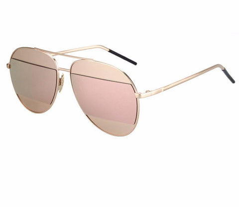 Cut Out Aviator Sunglasses - Luxxy Shop