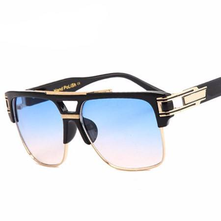 California Vintage Oversize Square Sun Glasses - Luxxy Shop