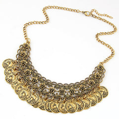 Jewelry - Avanti -  Bohemian Coin Necklace Women