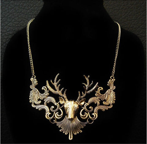 Jewelry - Elk Deer Collar Classic Choker
