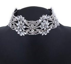 Magnolia Choker Necklace - Luxxy Shop