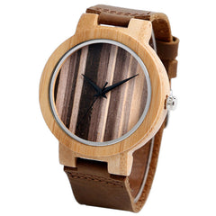 Durban Bamboo Wood Watch - Luxxy Shop