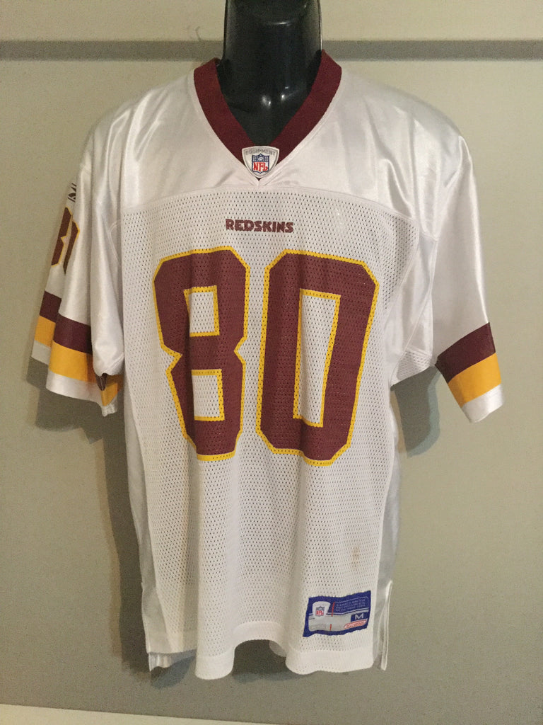 Washington Redskins Coles 80 Men s Size M NFL Football Jersey – Larry the  Hockey Guy Collectibles febb5edac