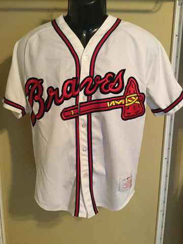 5842731e0 Sold Out Vintage Atlanta Braves Size Adult M Baseball Jersey