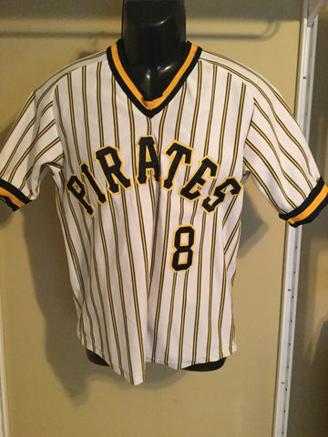 Sold Out Vintage Pittsburgh Pirates  8 Baseball Jersey 9350fcea8