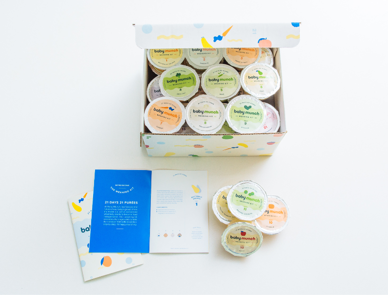 21 Day Baby Weaning Kit