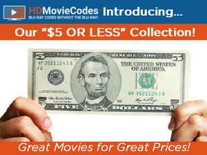 $5 or Less Movies