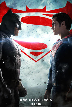 Batman vs Superman: Dawn of Justice UV HD or iTunes HD via Movies Anywhere