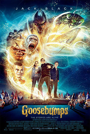 Goosebumps VUDU HD or iTunes HD via Movies Anywhere