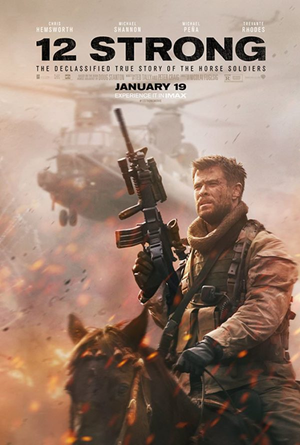 12 Strong VUDU HD or iTunes HD via Movies Anywhere