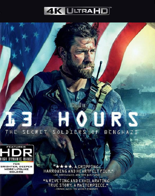 13 Hours The Secret Soldiers of Benghazi FandangoNow 4K