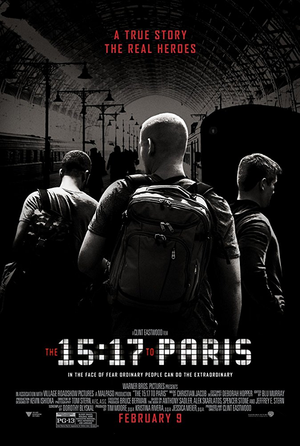 The 15:17 to Paris VUDU HD or iTunes HD via Movies Anywhere