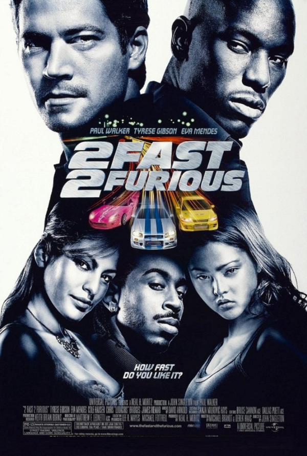 2 Fast 2 Furious iTunes 4K
