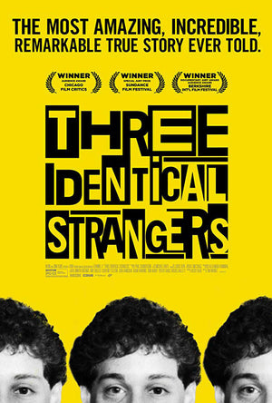 Three Identical Strangers VUDU or iTunes HD via Movies Anywhere Early Release