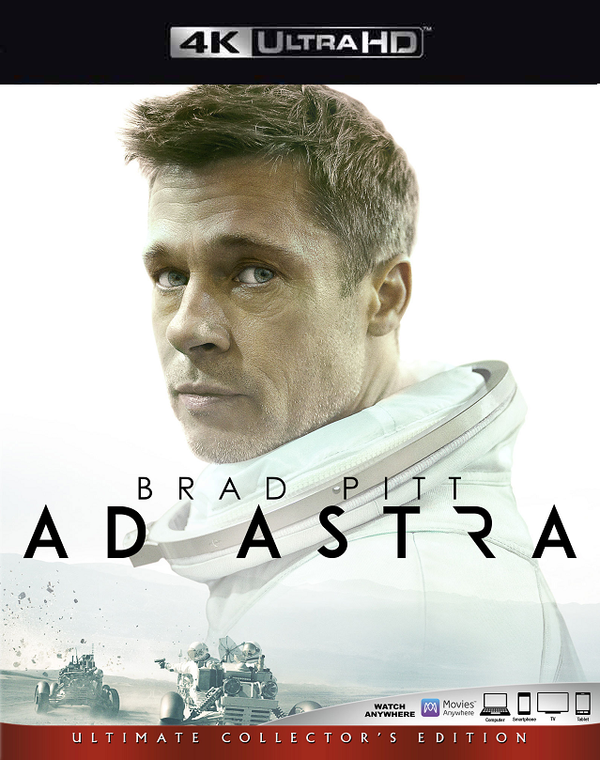 Ad Astra VUDU 4K or iTunes 4K via MA Early Release