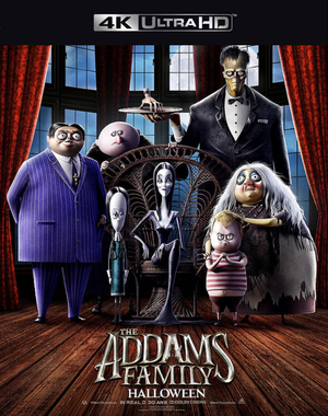 The Addams Family iTunes 4K