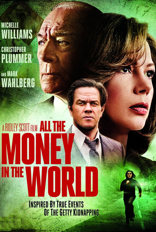 All the Money in the World VUDU HD or iTunes HD via Movies Anywhere