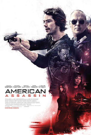 American Assassin UV HD or iTunes 4k