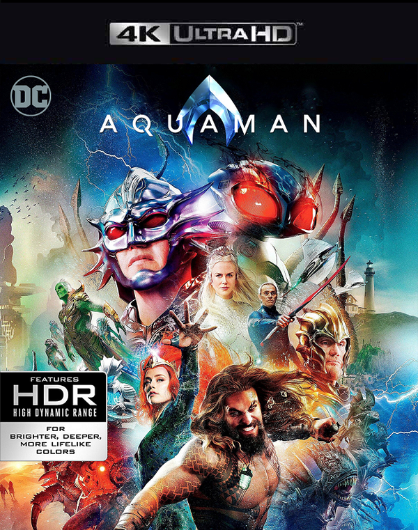 Aquaman VUDU 4K or iTunes 4K via MA
