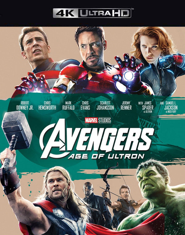 The Avengers age of Ultron MA 4K VUDU 4K