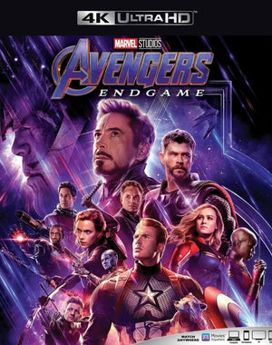 Avengers Endgame iTunes 4K (Transfers to VUDU 4K via MA)