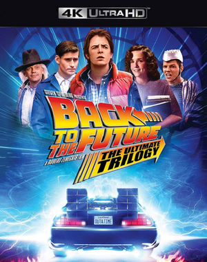 Back to the Future Trilogy VUDU 4K or iTunes 4K via MA