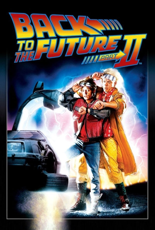 Back to the Future Part II VUDU HD or iTunes HD via MA