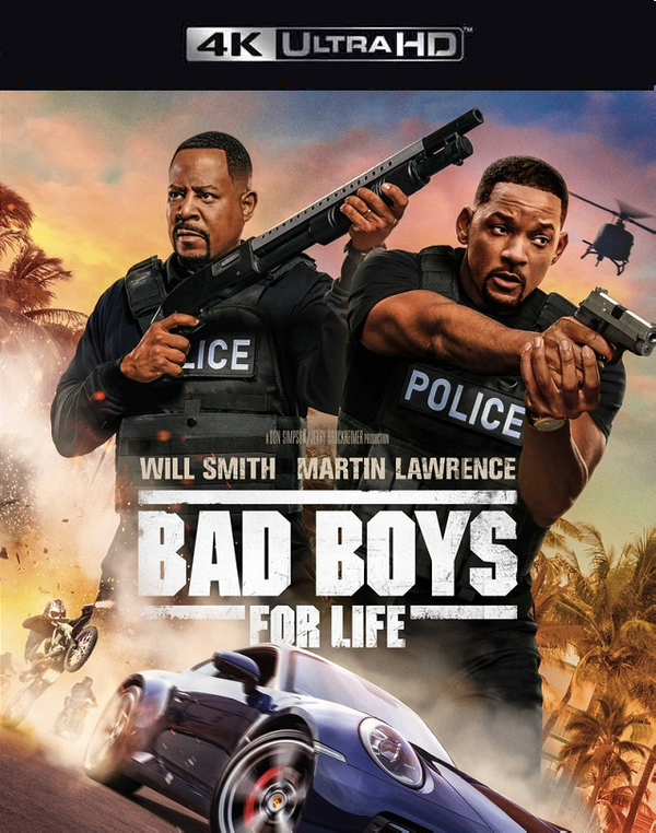 Bad Boys for Life VUDU 4K Instawatch (iTunes 4K via MA) *WATCH MAR 31