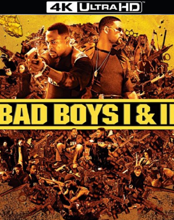 Bad Boys 1 And 2 Itunes 4K Via Movies Anywhere - Hd Movie -9721