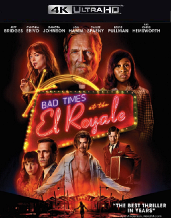 Bad Times at the El Royale VUDU 4K or iTunes 4K via Movies Anywhere