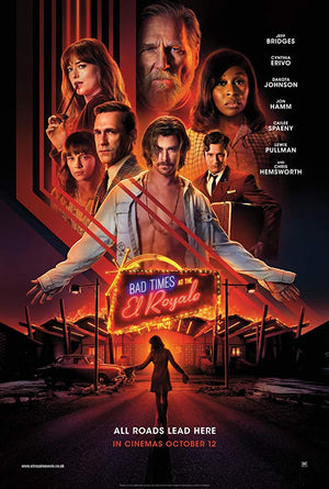 Bad Times at the El Royale VUDU HD or iTunes HD via Movies Anywhere