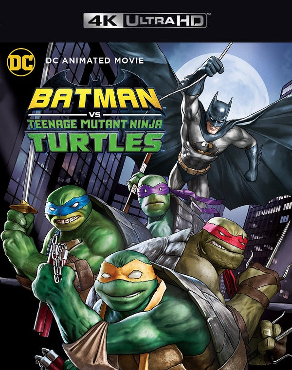 Batman vs Teenage Mutant Ninja Turtles MA 4K VUDU 4K iTunes 4K