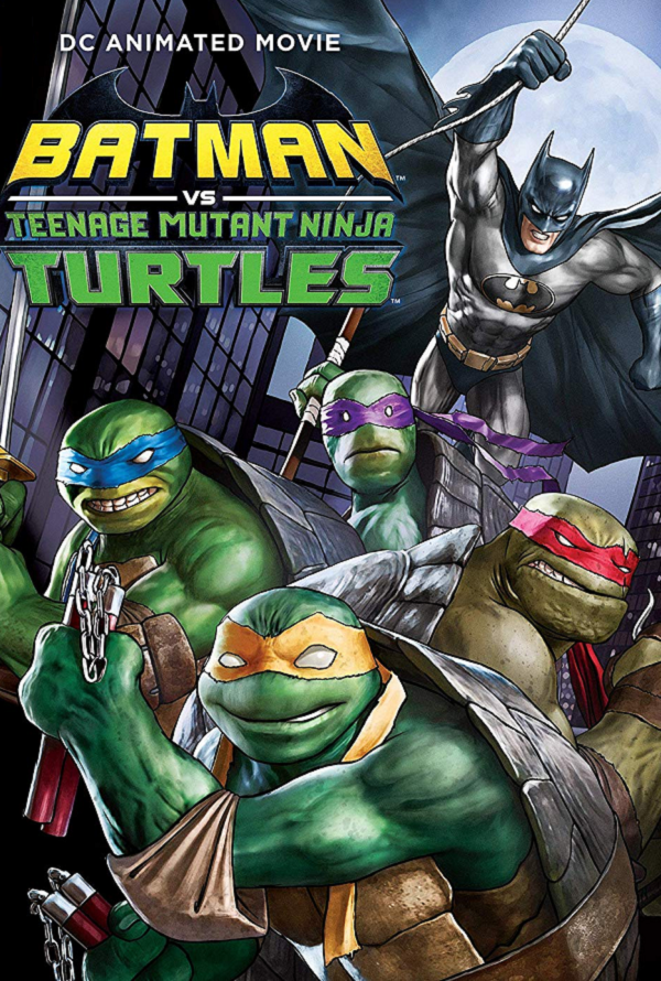 Batman vs Teenage Mutant Ninja Turtles VUDU HD Instawatch (iTunes HD via MA)
