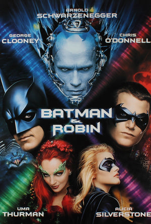 Batman and Robin VUDU HD or iTunes HD via MA