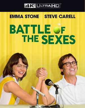 Battle of the Sexes VUDU 4K through iTunes 4K