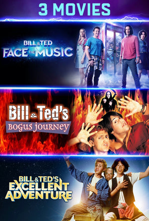 Bill and Ted Excellent Triple Feature Bundle