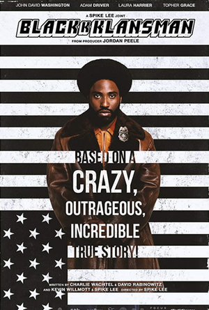 BlacKkKlansman VUDU HD or iTunes HD via Movies Anywhere