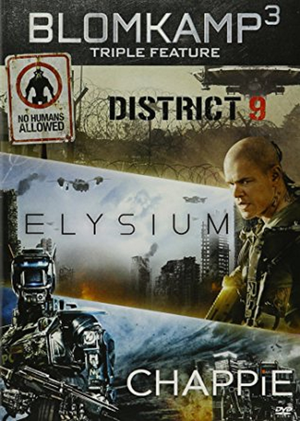 Blomkamp Trilogy - District 9, Elysium & Chappie UV HD or iTunes HD via Movies Anywhere