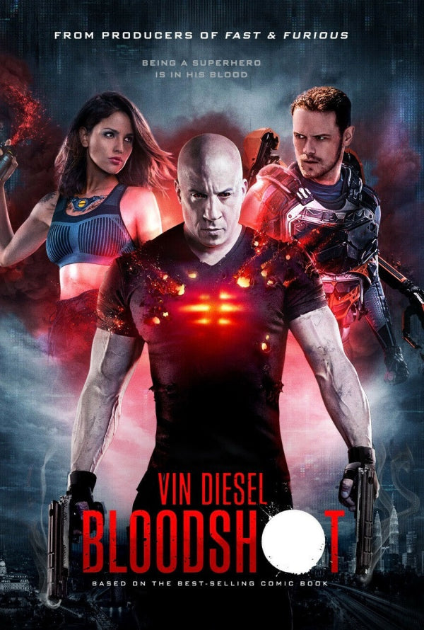 Bloodshot VUDU HD or iTunes HD via MA