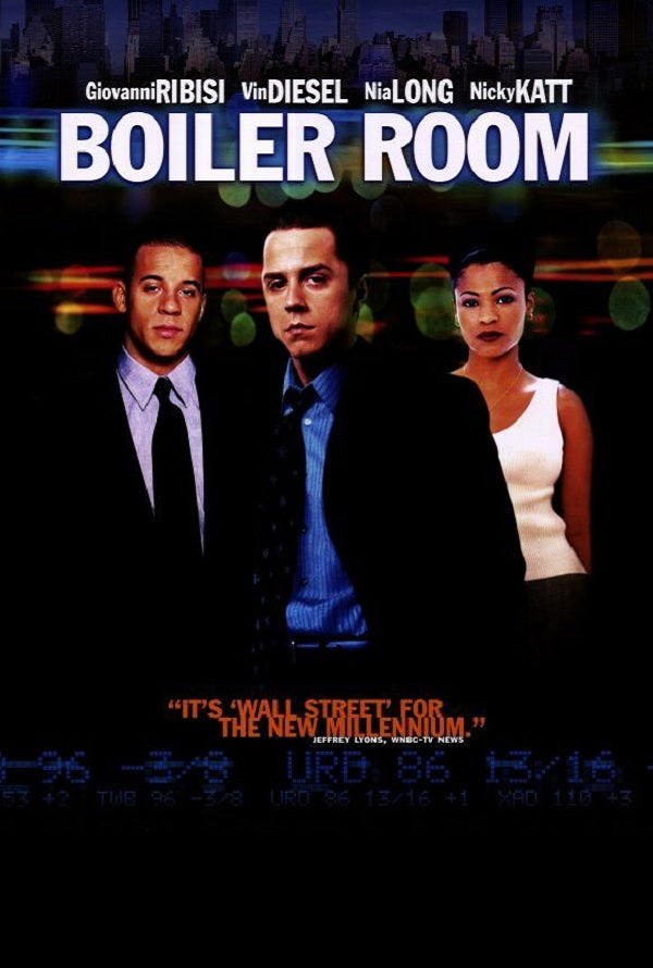 Boiler Room UV HD or iTunes HD via Movies Anywhere