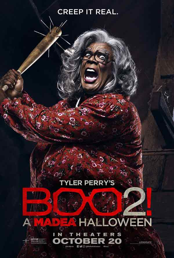 Boo 2 A Madea Halloween VUDU HD or iTunes HD