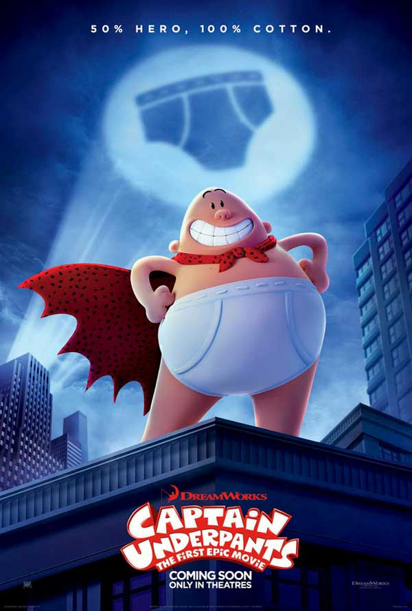 Captain Underpants VUDU HD or iTunes HD