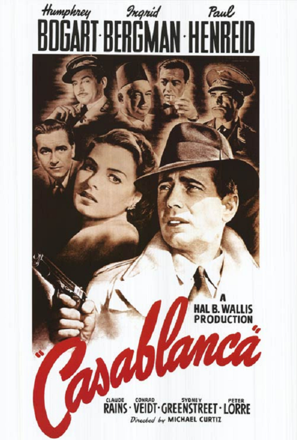 Casablanca UV HD or iTunes HD via Movies Anywhere