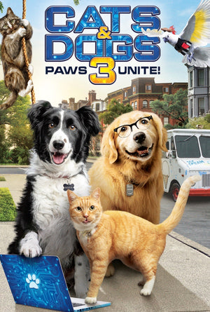 Cats & Dogs 3 Paws Unite MA VUDU HD iTunes HD Pre-order OCT 16