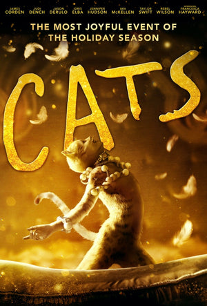 Cats 2019 VUDU HD or iTunes HD via MA Early Release